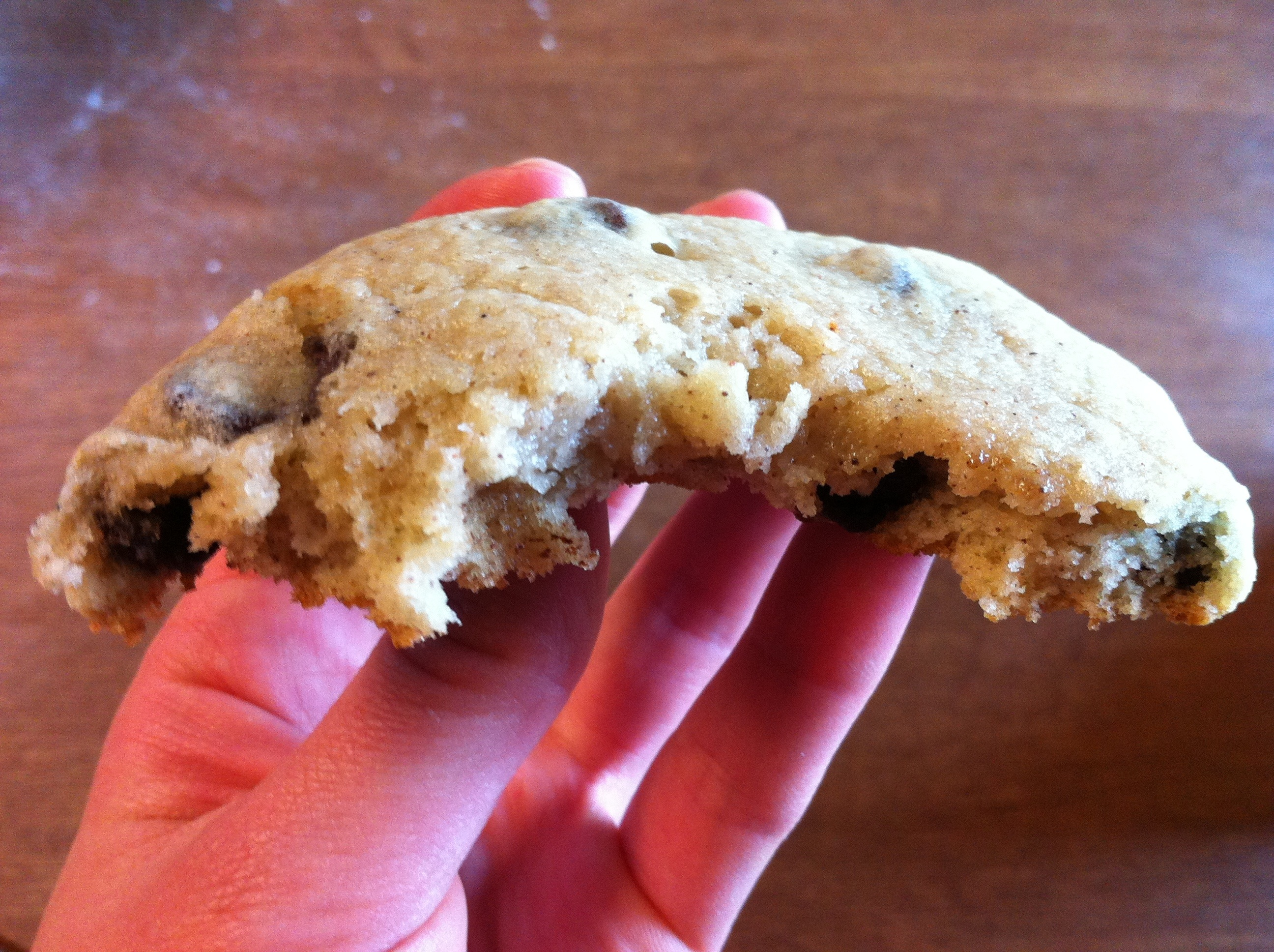 banana chocolate chip cookie