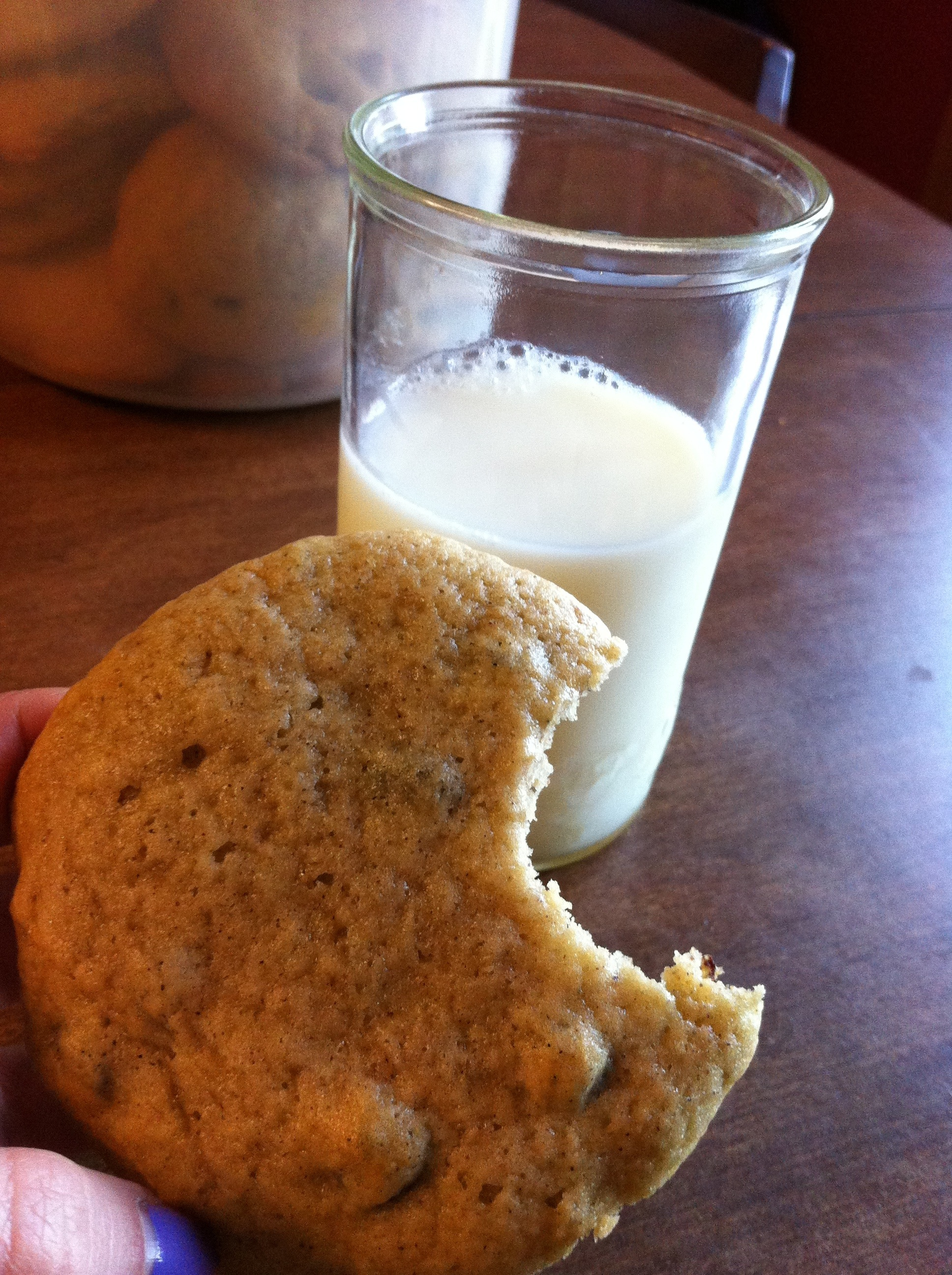 bcc cookie and milk